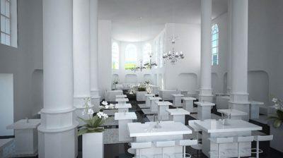 Beurs in multifunctionele kerk
