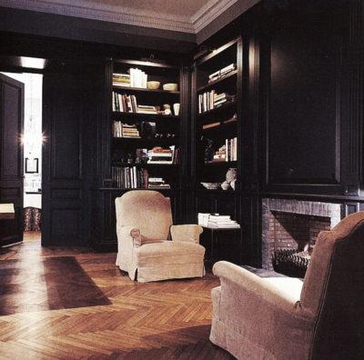 stijlvolle bibliotheek
