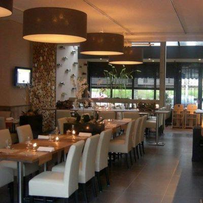 restaurant in tuinhuissfeer